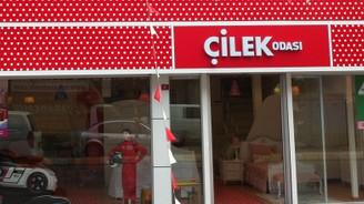 Hindistan'da ilk Türk markası Çilek