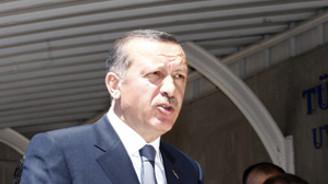 Erdoğan hayvanseverleri ağırladı