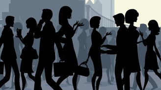 Kentlerde çalışan kadın sayısı 4 yılda arttı