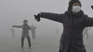 Pekin'de hava kirliliği 'tehlikeli' seviyelere ulaştı