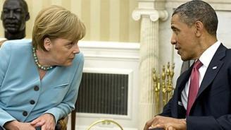 Obama Merkel'i ABD'ye davet etti