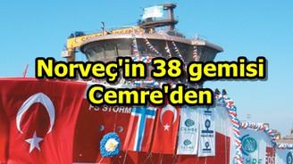 Norveç'in 38 gemisi Cemre'den