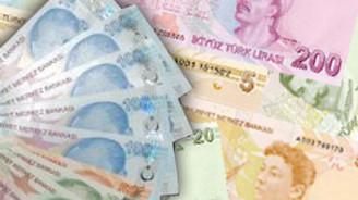 Emisyon hacmi 319 milyon lira azaldı