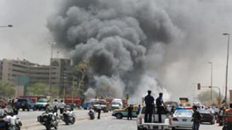Bağdat'ta üç patlama: 35 kişi öldü