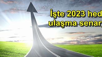 İşte 2023 hedefine ulaşma senaryoları
