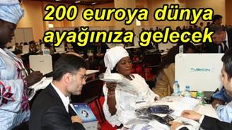200 euroya dünya ayağınıza gelecek