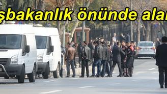 Başbakanlık önünde bomba şüphesi
