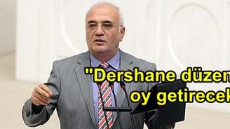 """""""Dershane düzenlemesi bize oy getirecek"""""""