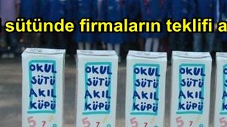 Okul sütünde firmaların teklifi alındı