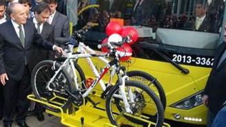 Bisikletli otobüs dönemi başladı