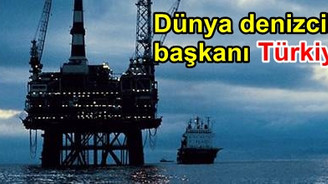 Denizciliğin başkanı Türkiye oldu
