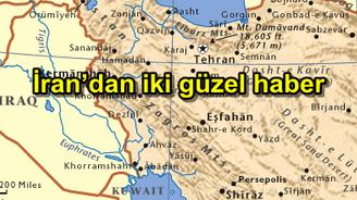 İran'dan iki güzel haber