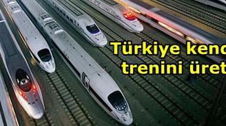 Türkiye kendi hızlı trenini üretecek