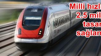 'Kendi hızlı trenimizi üreteceğiz'