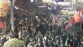 Kadıköy'de eyleme polis müdahalesi