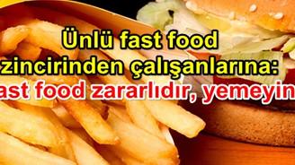 McDonald's: Fast food yemeyin
