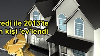 Yapı Kredi ile 2013'te 180 bin kişi 'ev'lendi