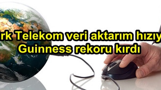 Türk Telekom 8 Terabit veri aktarım hızı ile Guinness rekoru kırdı