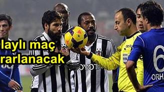 Kasımpaşa - Beşiktaş maçı tekrarlanıyor