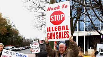Washington'da silah karşıtı protesto