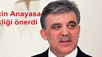 HSYK için Anayasa değişikliği önerdi