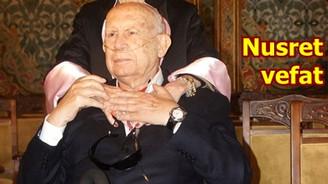 Nusret Arsel vefat etti