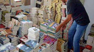 İstanbul'da 55 bin adet korsan ders kitabı ele geçirildi