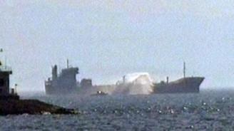 Pendik açıklarında kimyasal tankerde patlama