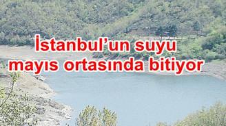 Yağmur yağmazsa İstanbul 110 gün sonra susuz kalacak