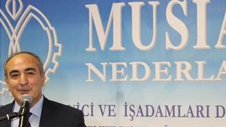 MÜSİAD'ın Hollanda şubesinden yeni yıl resepsiyonu