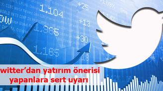 Twitter'cı borsacıya 'etik' uyarısı