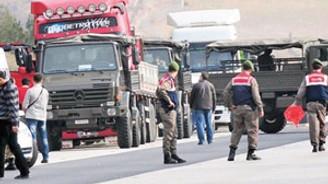 TIR'ı durduran askerler gözaltında
