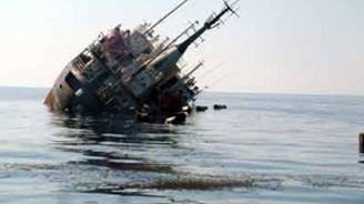 Karadeniz'de bir yük gemisi batma tehlikesi geçirdi