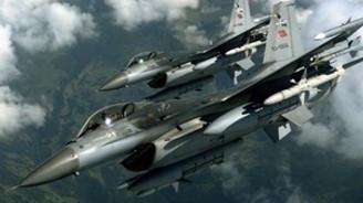 Suriye füzeleri F-16'ları taciz etti