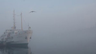 Boğaz, transit gemi geçişlerine kapatıldı