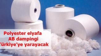 'Polyester elyaf'ta AB dampingi bize yarayacak'