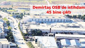 Hızlı büyüyen Demirtaş OSB istihdamını 45 bine çıkardı