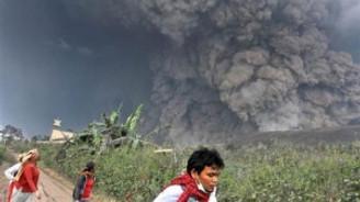 Cava adasında yanardağ felaketi