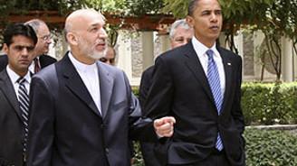 Obama'dan Karzai'ye destek mektubu