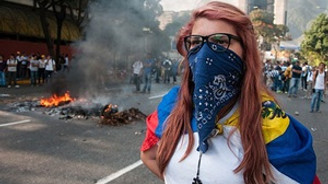 Venezuela'daki gösterilerde güzellik kraliçesi öldü