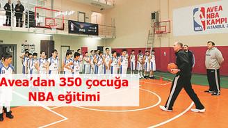 Avea'dan 350 çocuğa NBA eğitimi