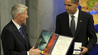 Obama, Nobel'den aldığı parayı bağışlayacak