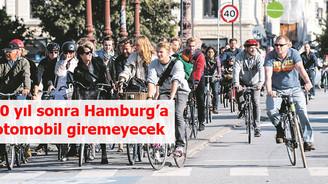20 yıl sonra Hamburg'a otomobil giremeyecek