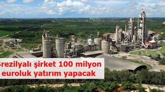 Brezilyalı şirket 100 milyon euroluk yatırım yapacak