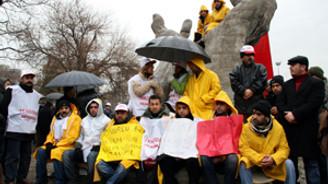 Çankaya Belediyesi'nden Tekel işçilerine destek