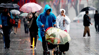 İstanbul'a 'yağmur' uyarısı