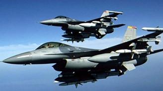 Türk F-16'ları Almanya'da