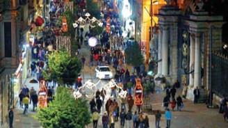 Taksim'de trafik yerin altına alınacak