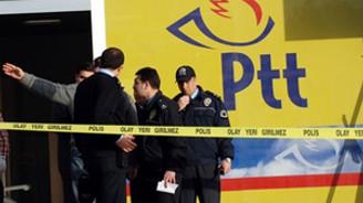 PTT şubesinde soygun