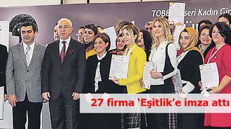 27 firma 'Eşitlik'e imza attı